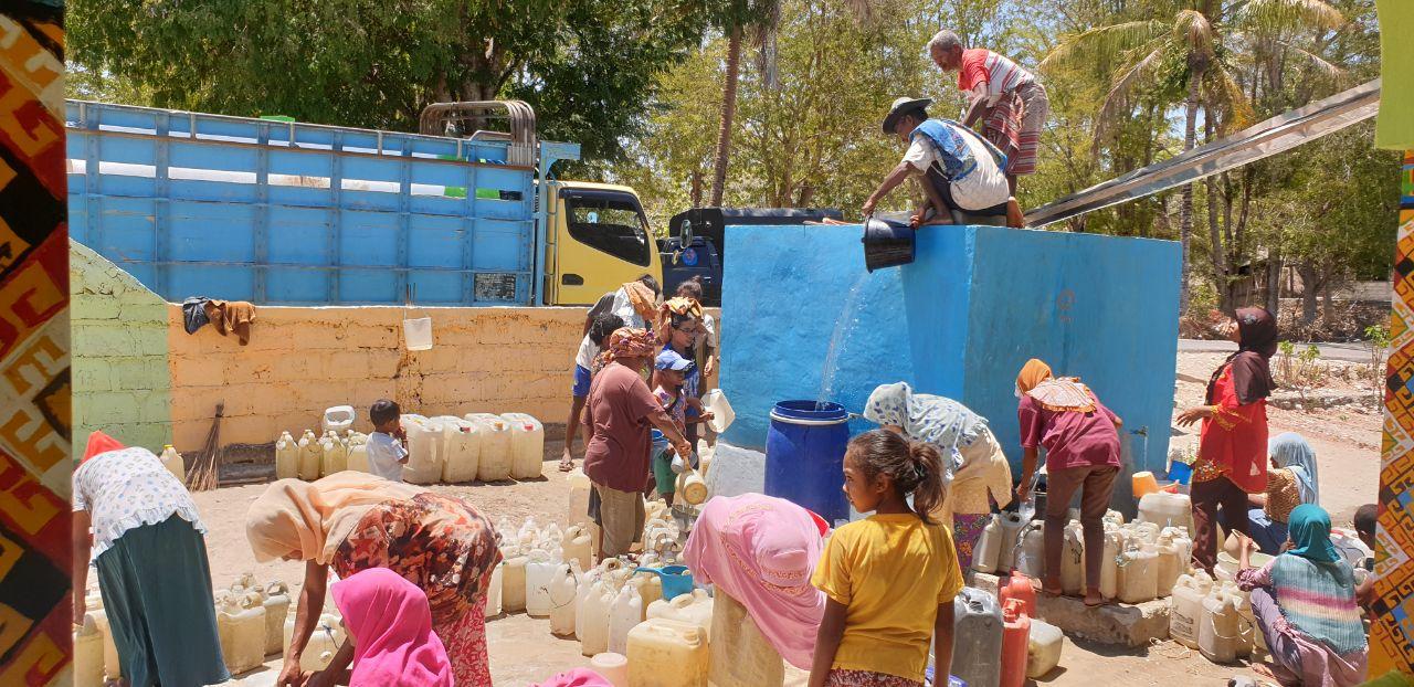 Air Bersih Untuk Kampung Qur'an