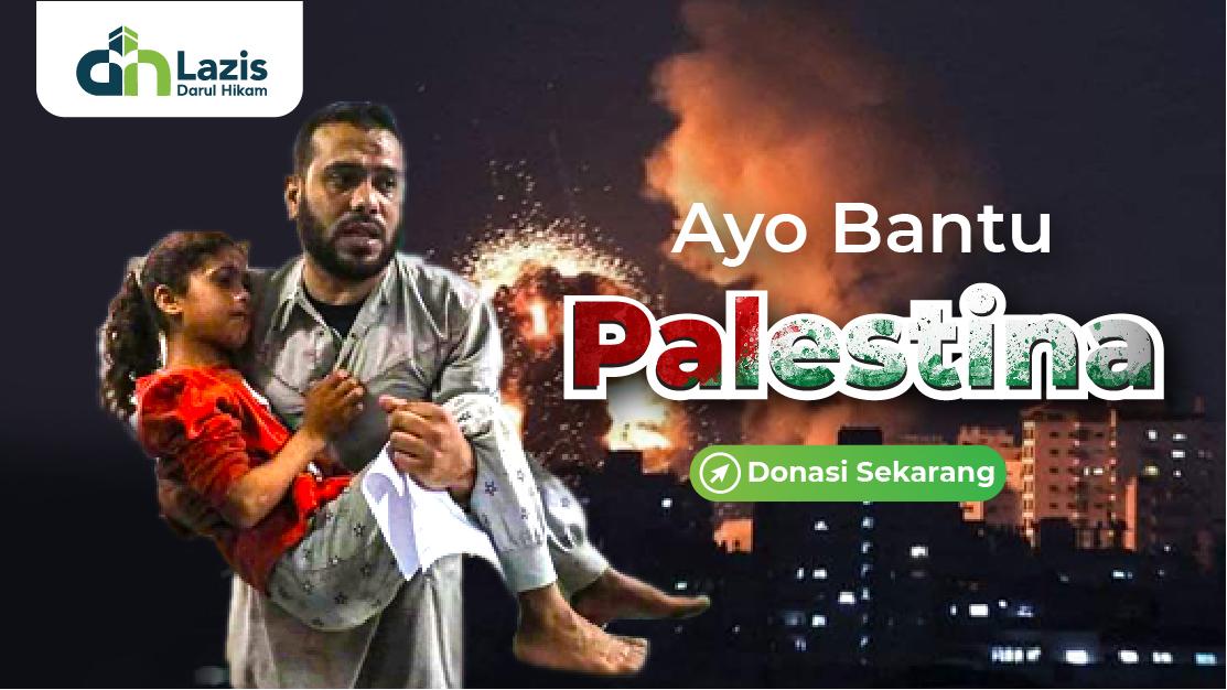 Ayo Bantu Palestina
